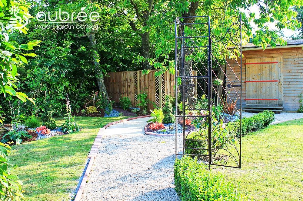Jardin romantique 3 APRES - Expert Jardin Conseil
